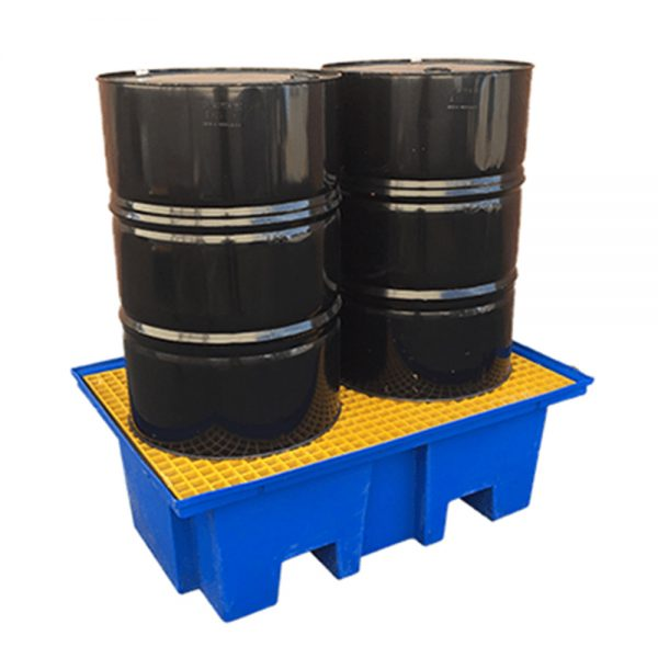 ECO Bund 2 Drum spill containment from eco pallets australia