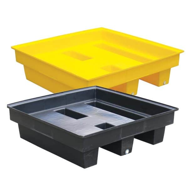 eco bund spill containment plastic pallets