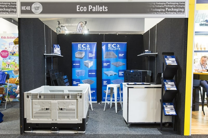 Eco Pallets had a stall at this year's Fine Food Show in Melbourne.