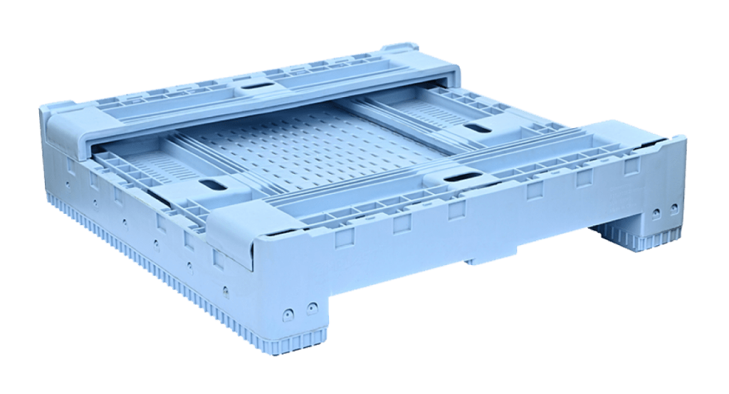 AU Standard Sized Collapsible Crate folded